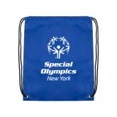 Royal Drawstring Backpack-Primary Mark Vertical