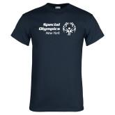 Navy T Shirt-Primary Mark Horizontal