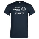 Navy T Shirt-Athlete