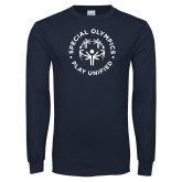 Navy Long Sleeve T Shirt-Play Unified