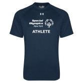Under Armour Navy Tech Tee-Athlete