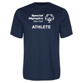 Performance Navy Tee-Athlete