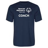 Performance Navy Tee-Coach