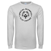 White Long Sleeve T Shirt-Play Unified