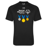 Under Armour Black Tech Tee-Olympic Medals