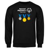 Black Fleece Crew-Olympic Medals