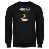 Black Fleece Crew-Olympic Torch