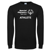 Black Long Sleeve T Shirt-Athlete