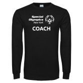 Black Long Sleeve T Shirt-Coach