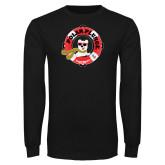Black Long Sleeve T Shirt-Polar Plunge