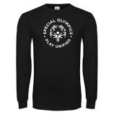 Black Long Sleeve T Shirt-Play Unified