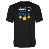 Performance Black Tee-Olympic Medals