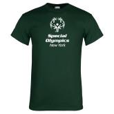 Dark Green T Shirt-Primary Mark Vertical