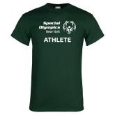 Dark Green T Shirt-Athlete