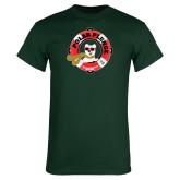 Dark Green T Shirt-Polar Plunge
