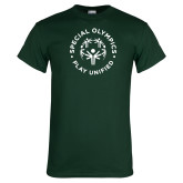 Dark Green T Shirt-Play Unified