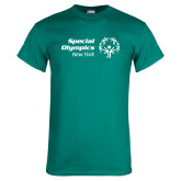 Teal T Shirt-Primary Mark Horizontal