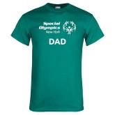 Teal T Shirt-Dad