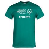 Teal T Shirt-Athlete