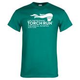 Teal T Shirt-Law Enforcement Torch Run