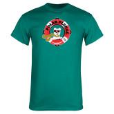 Teal T Shirt-Polar Plunge