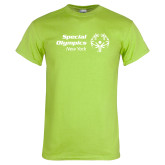 Lime Green T Shirt-Primary Mark Horizontal