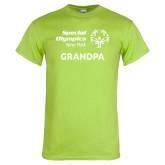Lime Green T Shirt-Grandpa