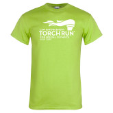 Lime Green T Shirt-Law Enforcement Torch Run