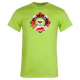 Lime Green T Shirt-Polar Plunge