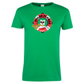 Ladies Kelly Green T Shirt-Polar Plunge