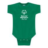 Kelly Green Infant Onesie-Primary Mark Vertical
