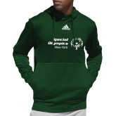 Adidas Dark Green Team Issue Hoodie-Primary Mark Horizontal