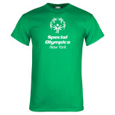Kelly Green T Shirt-Primary Mark Vertical