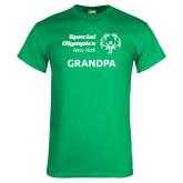 Kelly Green T Shirt-Grandpa