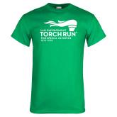 Kelly Green T Shirt-Law Enforcement Torch Run