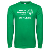 Kelly Green Long Sleeve T Shirt-Athlete