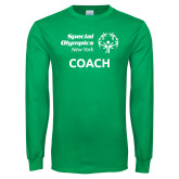 Kelly Green Long Sleeve T Shirt-Coach