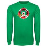 Kelly Green Long Sleeve T Shirt-Polar Plunge