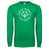 Kelly Green Long Sleeve T Shirt-Play Unified