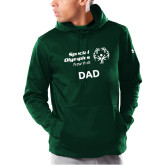 Under Armour Dark Green Armour Fleece Hoodie-Dad