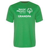 Performance Kelly Green Tee-Grandpa