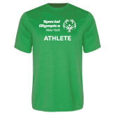 Performance Kelly Green Tee-Athlete