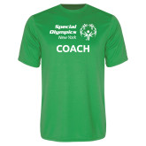 Performance Kelly Green Tee-Coach