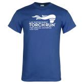 Royal T Shirt-Law Enforcement Torch Run