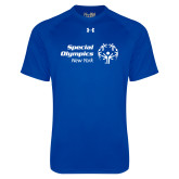 Under Armour Royal Tech Tee-Primary Mark Horizontal