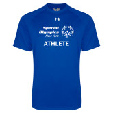 Under Armour Royal Tech Tee-Athlete