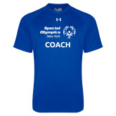 Under Armour Royal Tech Tee-Coach
