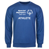 Royal Fleece Crew-Athlete
