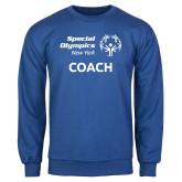 Royal Fleece Crew-Coach