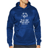 Adidas Royal Team Issue Hoodie-Primary Mark Vertical